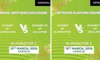PSL 2019: Mega final, Eliminators' online tickets sold out within minutes
