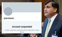 Pakistan Foreign Office spokesperson's Twitter account suspended on 'Indian complaint'