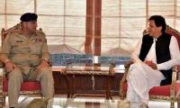 Army Chief Gen Bajwa meets PM Imran