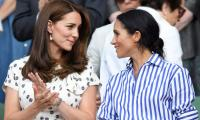 Why did Kate Middleton miss Meghan Markle's baby shower?