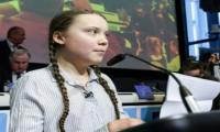 Greta Thunberg warns politicians who fail to tackle climate change at an EU conference