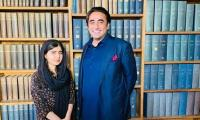 Malala meets PPP chairman Bilawal Bhutto at Oxford university