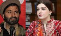 Mushaal Mullick wishes husband Yasin Malik 10th wedding anniversary