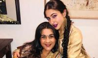 Sara Ali Khan addresses reports of moving out of mother Amrita's house