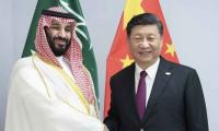 Saudi crown prince meets Chinese President Xi Jinping