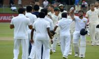 Smiling Sri Lanka stun South Africa to seal historic series win