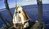 SpaceX capsule back on Earth, paving way for new manned US flights