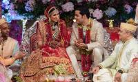 In pictures: Akash Ambani and Shloka Mehta's star-studded, lavish wedding ceremony