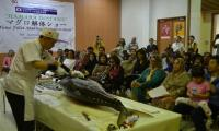 Tuna Fillet Making Demonstration held in Karachi