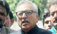 President Alvi calls for adopting preventive approach to lower disease burden in Pakistan