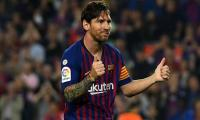 Messi hat-trick blows away Betis