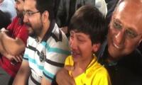 WATCH: Saeed Ghani's son breaks into tears after Peshawar Zalmi's defeat