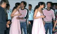 Deepika Padukone's goodbye hug to Ranbir attracts admirers: See viral pics