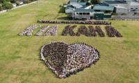 Students at Auckland school stand in solidarity with Christchurch victims