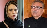 President Arif Alvi thanks PM Jacinda Ardern for showing compassion