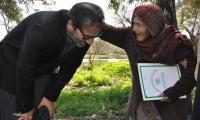 Elderly woman gets a home after PM Imran's intervention