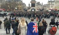 Christchurch Mosques shootings: Thousands attend vigil at London's Trafalgar Square