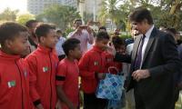 CM Murad announces cash prize for Lyari football team after Qatar tournament win