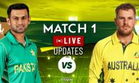 Pakistan vs Australia Live Score: Pak vs Aus 1st ODI Live Cricket Commentary Online
