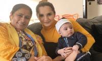 Sania Mirza shares adorable photo of son Izhaan, mother Nasima