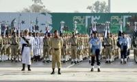 Nation celebrates Pakistan Day with military parade, gun salute