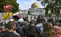 Emotional Muslims return to Christchurch mosque as NZ works to move on