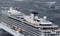 Three of four engines on stricken Norway cruise ship restarted