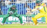Pakistan vs Australia: 2nd ODI scoreboard
