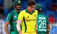 Australian bowler Richardson heads home with dislocated shoulder