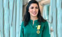 Mehwish Hayat hits back at haters complaining about her Tamgha-e-Imtiaz