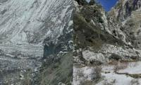 Shisper Glacier surging at 5 to 6 meters a day: GBDMA