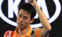 Japan´s Nishikori knocked out in Monte Carlo