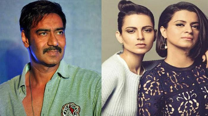 Kangana Ranaut's sister Rangoli calls out Ajay Devgn for working with alleged sexual harasser