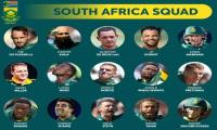 South Africa squad for World Cup announed