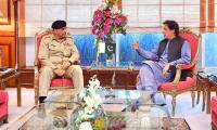 COAS calls on PM Imran to discuss security situation