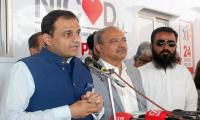 Unlike PTI, Sindh govt using containers to save lives of heart patients: Murtaza Wahab