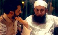 Mohammad Hafeez meets Maulana Tariq Jameel before World Cup departure