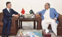 Government to facilitate Chinese investors to invest in Pakistan: Dr Hafeez Shaikh