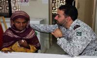 Pakistan Navy establishes free medical camp at Keti Bandar