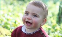 Prince William, Kate Middleton release new photos of Prince Louis on his first birthday