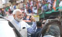Modi casts vote on India's 'Super Tuesday'