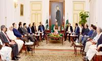 Revival of economy top priority of government: President Arif Alvi