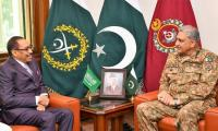 COAS General Bajwa, Saudi Assistance Minister of Defence discuss security cooperation
