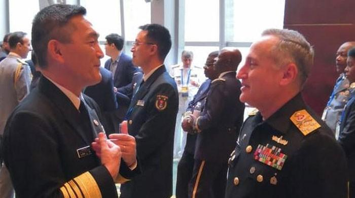 Pakistan Navy Chief attends high level symposium in China