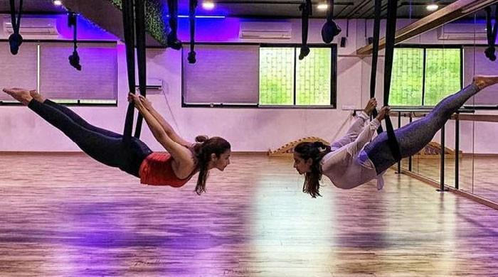 Alia Bhatt doing aerial yoga is the motivation you need to hit the gym