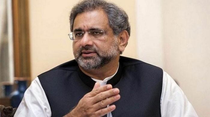 Ex-PM Shahid Khaqan Abbasi appears before NAB in LNG scam