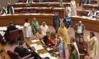 Imran's remarks calling Bilawal 'sahiba' condemned in NA