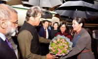 PM Imran arrives in Beijing to attend BRF, meet Chinese leadership