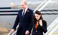 Prince William arrives at Christchurch mosque with Jacinda to tribute victims