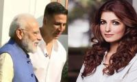 Akshay Kumar gets stumped when PM Modi takes a dig on his wife